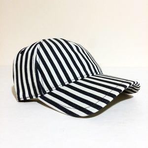 Rag & Bone Navy White Stripe Marilyn Baseball Cap